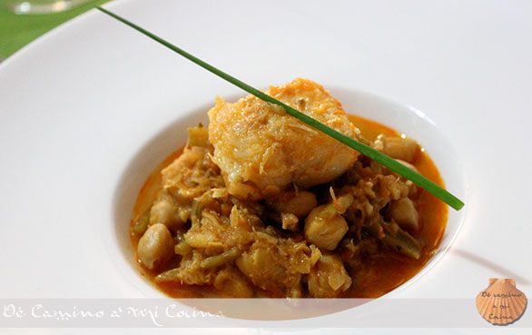 Recetas de cocina gaditana de camino a mi cocina - Potaje garbanzos con bacalao ...